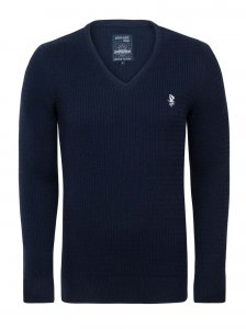 Giorgio Di Mare Jersey Long Sleeved Sweater Navy GI7897159