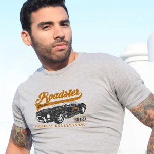 Ruff Riders Roadster Short Sleeved T Shirt