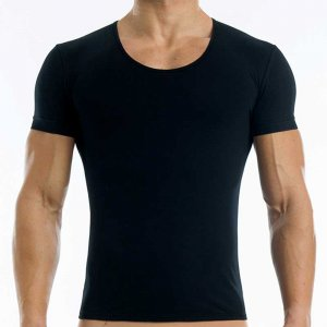Modus Vivendi Antibacterial Short Sleeved T Shirt Black 15641