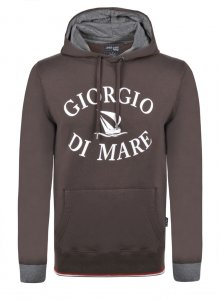 Giorgio Di Mare Hoody Long Sleeved Sweater Brown GI1809587