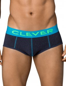 Clever Open Sky Piping Brief Underwear Blue 5352