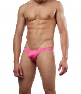Cover Male Pouch Enhancing Thong Underwear & Swimwear Pink 202