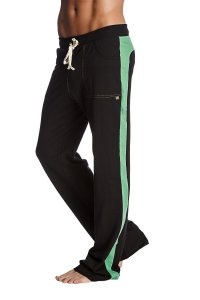 4-rth Eco Track Pants Black/Bamboo Green