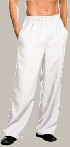 Dreamguy Solid Pants White 6379