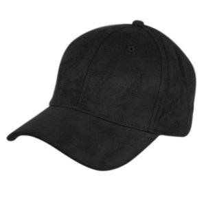 Epoch Faux Suede Hat Black CP2392