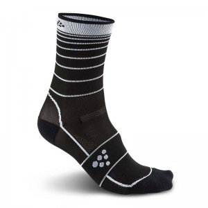 Craft Gran Fondo Unisex Socks Black/White 1903991