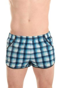 L'Homme Invisible Gym Split Shorts Swimwear Blue SWIMGYM-CAR
