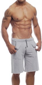 Go Softwear Workout Shorts Heather Grey 4652