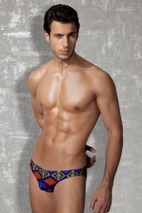 Doreanse Printed Kilim Rug Brief Underwear 1247