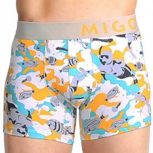 MIGO Snorkeling Boxer Brief Underwear Grey