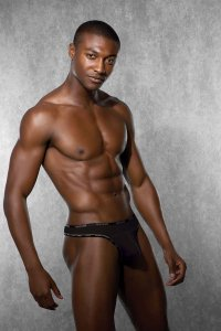 Doreanse Naked Thong Underwear Black 1216