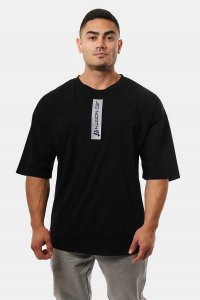Jed North Energy Oversized Short Sleeved T Shirt Black JNTOP...