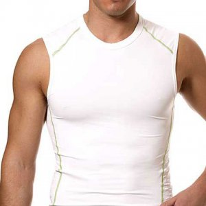Speedo FSII Muscle Top T Shirt White 443011
