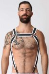 CellBlock 13 Samurai Harness White CBS024