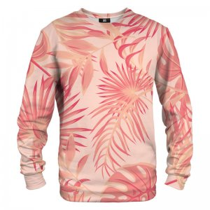 Mr. Gugu & Miss Go Tropical Pink Unisex Sweater S-PC1278