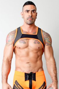 CellBlock 13 Stryker Harness Accessory Black/Orange
