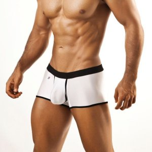 Joe Snyder Launch Boxer Brief LCH04 White Underwear & Swimwear