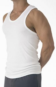 [2 Pack] Jockey Classic Tank Top T Shirt Athletic White M960...
