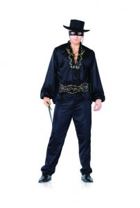 Leg Avenue Costume Set Masked Spanish Hero 83568