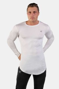 Jed North Evolve Long Sleeved T Shirt White JNTOP001