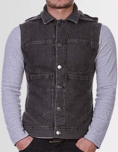 Kear&Ku Hooded Gilet Sweater Acid