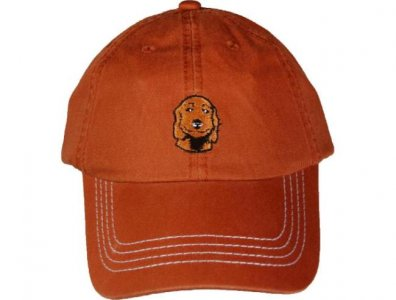 Charlie Dog Baseball Hat Orange C1001