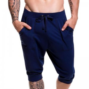 Jor LONDON Jogger Shorts Navy 0295