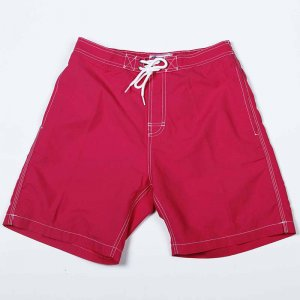 Trunks Surf & Swim Solid Marswave Swami Boardshorts Beachwea...