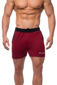 Jed North Titan Sweat Shorts Red