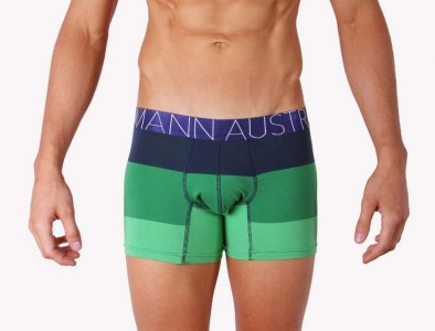Mosmann Aura Boxer Brief Underwear Green/Blue CM2240