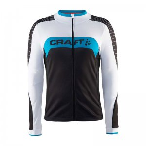 Clearance Craft Gran Fondo Jersey Long Sleeved T Shirt Black 1903988