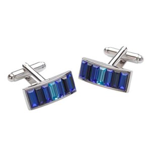 Duncan Walton Serpens Cufflinks Blue C2600B