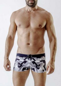 Geronimo Square Cut Trunk Swimwear 1720B1-2