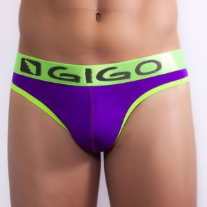 Gigo WAVES PURPLE G String Underwear