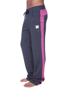 4-rth Eco Track Pants Charcoal/Berry