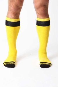 CellBlock 13 Vertigo Socks Yellow A023