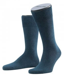 Falke Family Socks Navy Blue 14645