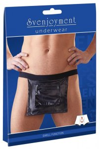 Svenjoyment Zipper Pocket Loincloth Underwear Black 2180383