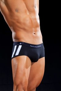 Narciso Mini Boxer Brief Underwear CELLA 059 BLACK