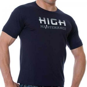 Good Boy Gone Bad High Maintenance Short Sleeved T Shirt