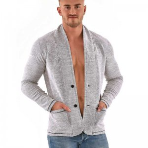 Roberto Lucca Blazer Jacket Light Grey 90270-11310