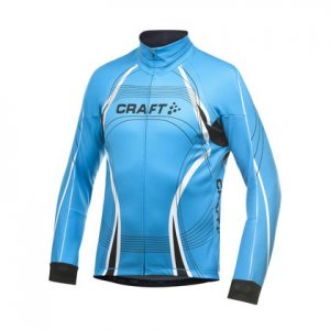 Craft Performance Bike Tour Long Sleeved Jacket Blue 1901277