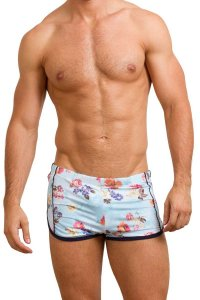 L'Homme Invisible Hawaii N'Dulge Shorts Swimwear Sky Blue SP...