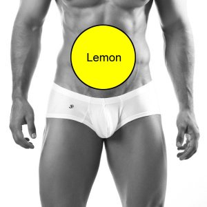 Joe Snyder Bulge Boxer Brief BUL03 Lemon Underwear & Swimwear