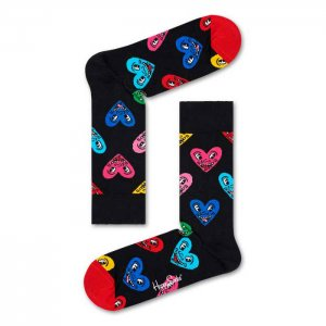Happy Socks Keith Haring Heart Socks KEH01-9300-007