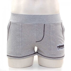 MIIW Boston Athletic Shorts Grey 4712-10