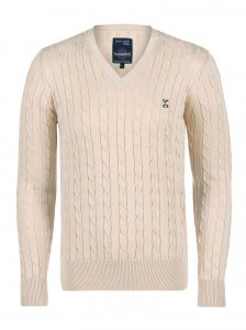 Giorgio Di Mare Jersey Long Sleeved Sweater Beige GI1525958
