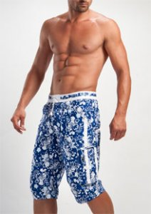 Geronimo Boardshorts Beachwear Blue Mindo