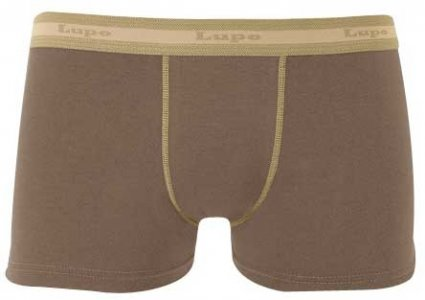 Lupo Cotton/Elastane Boxer Brief Underwear Terra 615-1