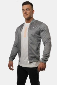 Jed North The Elevate Bomber Jacket Grey JNTOP027